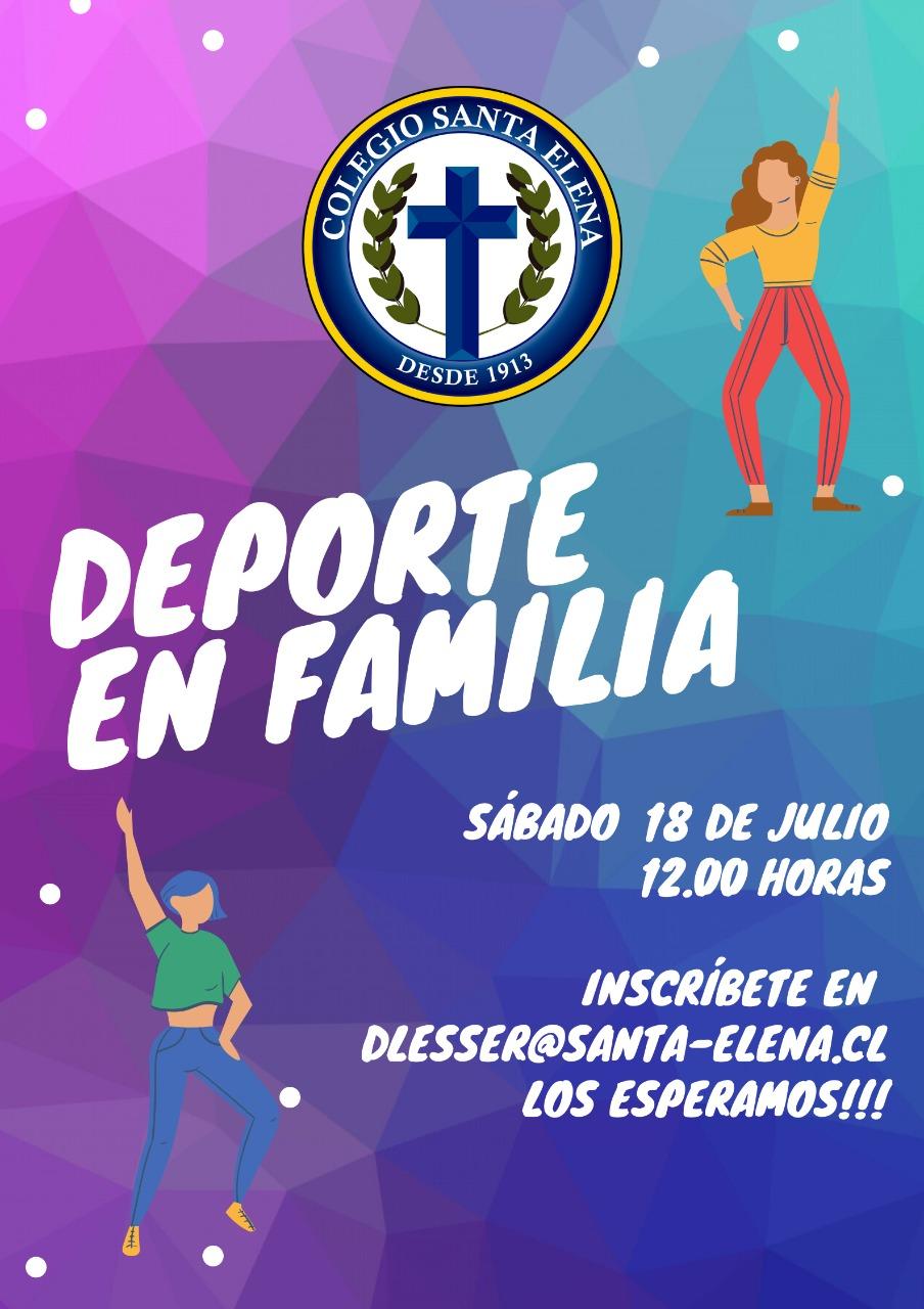 Deporte en Familia - 15/07